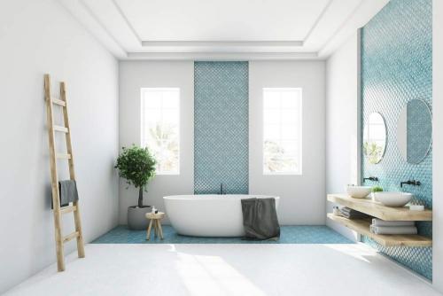 Modern luxury Bathroom Interior Design Dubai