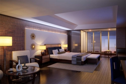 hotel bedroom interior design companies in Dubai