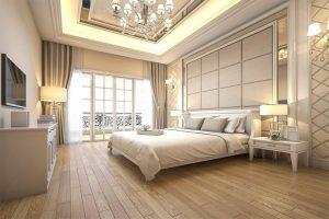 Royal bedroom interior design company in Dubai