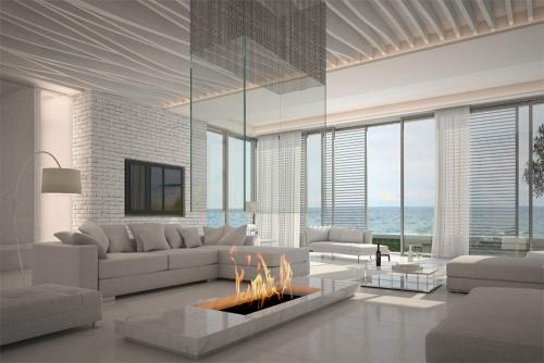 Living room interior design company Dubai