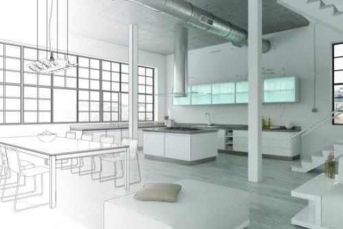 Kitchen Interior Design Concept Dubai