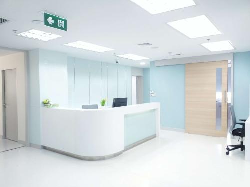 Clinic Reception Interior Design Company Dubai