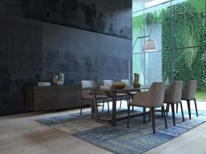 Villa Dining Room Interior Design Company in Dubai