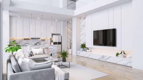 Villa Living Room Interior Design Companies in Dubai