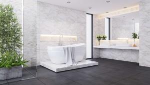 Luxury villa bathroom interior designs company in Dubai